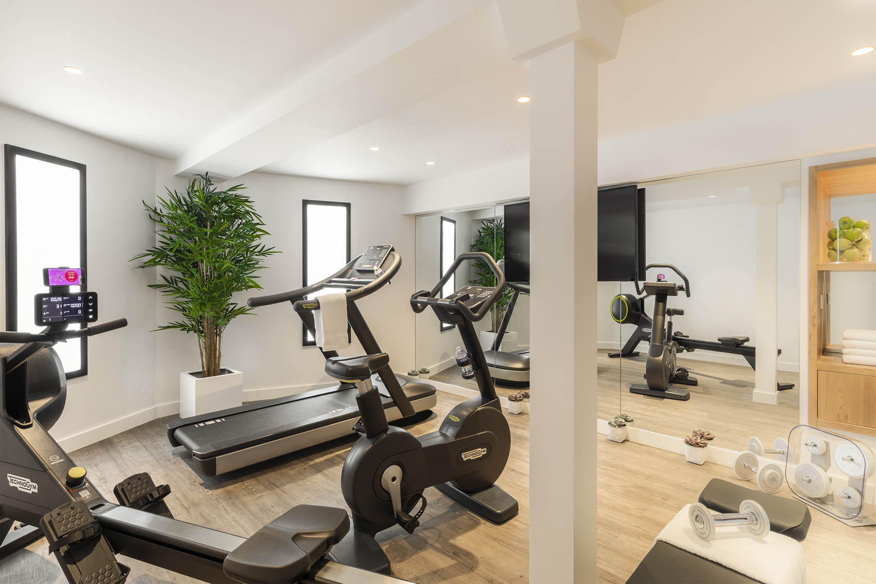 Best Western Plus la demeure fitness room